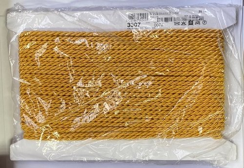 25m Kordel 5mm 3307-0072 goldgelb
